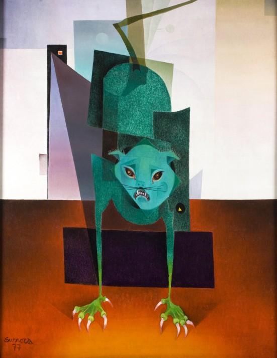 Chat Vert, 1977