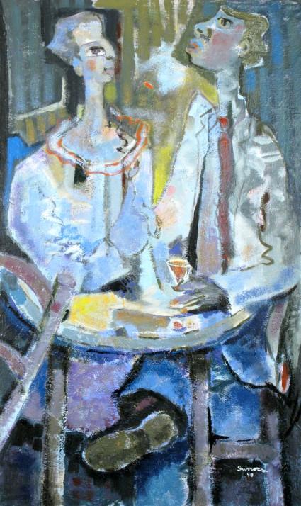 Le Café, 1990