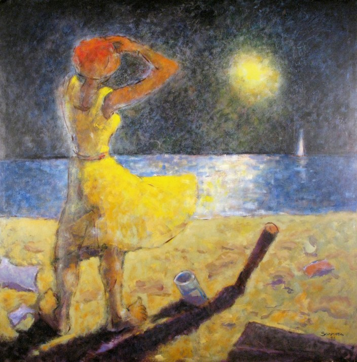Femme Regardant L'Horizon, 1995