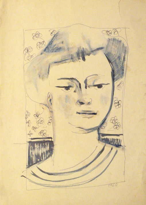 Female Bust, 1950